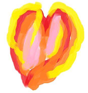 Asta e o inima. Am facut-o in mspaint pentru ca sunt un romantic si pentru ca stiu ca oamenii citesc mai usor texte mai lungi daca-s sparte de poze irelevante